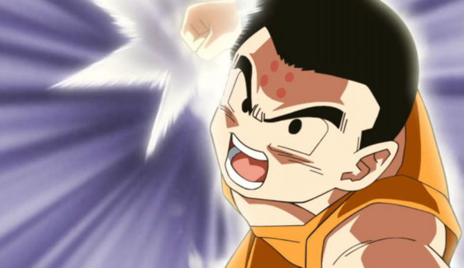 Krillin's coolest there is…